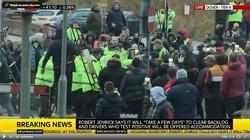 Anglia. Starcia kierowców tirów z policją w Dover [Wideo] - miniaturka