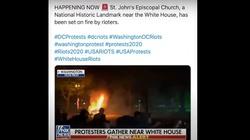 ANTIFA niszczy kościoły w czasie zamieszek w USA (Wideo) - miniaturka