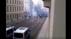 """""""Antyfaszystowski"""" terror na ulicach Lipska - miniaturka"""