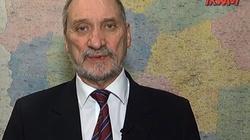 Antoni Macierewicz: Na początku 2020 raport o przyczynach katastrofy - miniaturka