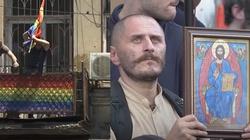 [Wideo] Gruzja zdecydowanie przeciwna LGBT. Doszło do starć - miniaturka