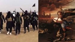 Św. Michał Archanioł w walce z muzułmanami  - miniaturka