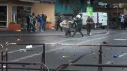 Szokujące! Muzułmanin atakuje nożem niemieckich policjantów, bo tak jest napisane w Koranie - miniaturka
