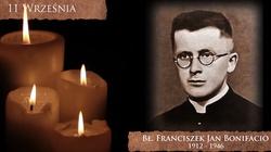 Bł. Franciszek Jan Bonifacio, męczennik jugosłowiańskich komunistów. Nigdy nie odnaleziono jego ciała - miniaturka