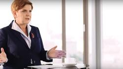 Beata Szydło broni nowego ministra Kamińskiego - miniaturka