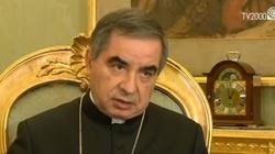 Kard. Becciu: tylko w jedności z papieżem Kościół się obroni - miniaturka
