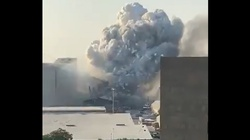 Z ostatniej chwili. Potężna eksplozja z Bejrucie - miniaturka