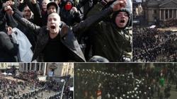 Antyimigrancki protest w Brukseli: Muzułmanie, terroryści. Doszło do starć z policją - miniaturka