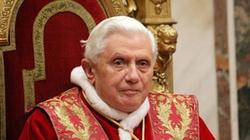 Benedykt XVI zasmucony tym, co się dzieje w niemieckim Kościele - miniaturka