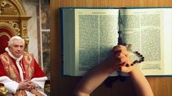 Benedykt XVI: Na wakacje zabierzcie ze sobą Biblię! - miniaturka