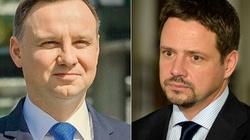 Andrzej Duda o Trzaskowskim: On mówi, a ja robię - miniaturka