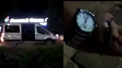 Białoruś. Policja strzela do filmującego radiowóz UWAGA! 18+ (Wideo) - miniaturka