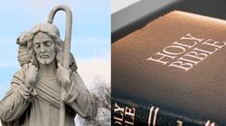 Cud? Figura Chrystusa i kartka z Biblii przetrwały pożar w USA - miniaturka