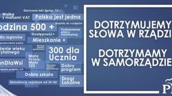 PiS rusza w Polskę z akcją billboardową. ''Dotrzymaliśmy słowa'' - miniaturka