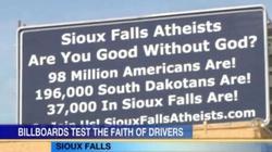 Ateiści z USA walczą z Bogiem na billboardach - miniaturka