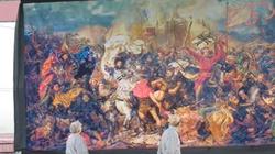 8 mln krzyżyków - tak powstała kopia Bitwy pod Grunwaldem [Wideo] - miniaturka