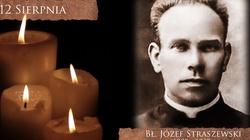 Bł. Józef Straszewski – zamęczony w Dachau służył wszystkim jako kierownik duchowy w sakramencie pokuty - miniaturka