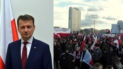Błaszczak: Jak widać, demokracja w Polsce ma się dobrze - miniaturka