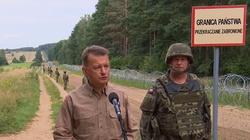 Zdecydowana większość Polaków popiera budowę płotu na granicy z Białorusią - miniaturka
