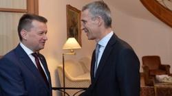Błaszczak: NATO docenia zaangażowanie Polski - miniaturka