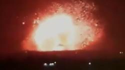 Bombardowanie Syrii. Potężne eksplozje zniszczyły składy broni reżimu Baszara al-Asada - miniaturka