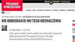 Ks. Boniecki broni Grossa: Nie odbierajcie mu tego odznaczenia! - miniaturka
