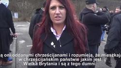 Brytyjska działaczka: Na nasz kontynent dokonuje się inwazja. Polacy, to nasza wspólna walka. Chodźcie z nami! - miniaturka