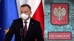 Prezydent Andrzej Duda nie zaangażuje się w spór w SN - miniaturka