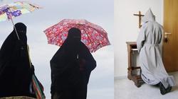Wraz z burkami UE może zakazać krzyży i habitów... - miniaturka