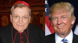 Kard. Burke do katolików: Głosowanie na Trumpa było słuszne! - miniaturka
