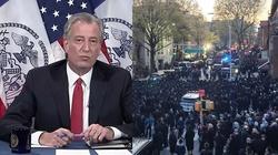 Burmistrz NY skrytykował Żydów - został nazwany antysemitą - miniaturka
