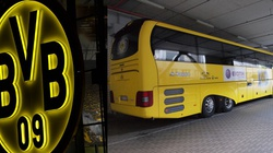 PILNE! Eksplozja przy autobusie piłkarzy BVB. Jeden z nich ranny - miniaturka