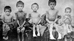 Ukraińcy wspominają zbrodnię Stalina - Wielki Głód - miniaturka
