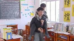 Wzruszające! Kolega nosił swojego niepełnosprawnego przyjaciela na plecach do szkoły - miniaturka