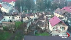 Chorwacja. Caritas pomaga. ,,Szybkie'' domy dla poszkodowanych - miniaturka