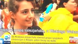 Piękna chrześcijanka z Syrii ośmieszyła TVN - miniaturka