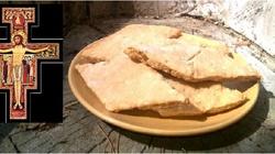 Przepis na ciasteczka jakie jadł św Franciszek z Asyżu w 1226 r. - miniaturka