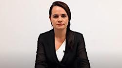 Oświadczenie Cichanouskiej: Jestem gotowa działać jako narodowy przywódca - miniaturka