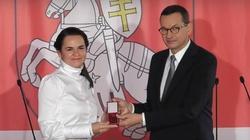 Cichanouska: Białoruś po nowych wyborach będzie miała dobre stosunki z Polską - miniaturka