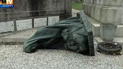 Niebywała profanacja cmentarza we Francji! FILM - miniaturka