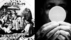 Cud eucharystyczny! Przemieniona Hostia wśród gnoju i śmieci - miniaturka