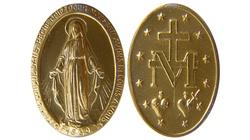Obietnica Maryi. Wszyscy, którzy będą nosili cudowny medalik, dostąpią wszelkich łask! - miniaturka