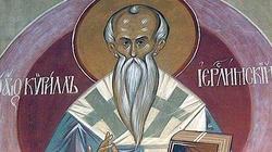 Dziś wspominamy Cyryla. Pięknie mówił o nim Benedykt XVI - miniaturka