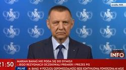 Marian Banaś wydał oświadczenie - miniaturka