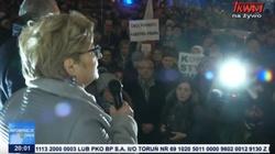 Wypuściła mordercę. Teraz jest twarzą protestów o ,,wolne sądy'' w Lublinie - miniaturka