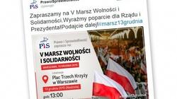 Wielki Marsz PiS ulicami Warszawy. Już 13 grudnia! - miniaturka