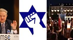 Jewish Defense League: Soros i inni faszyści, ręce precz od Polski!!! - miniaturka