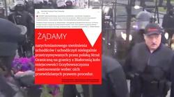 Totalna bezczelność! HFPC oskarża Polskę o kryzys na granicy z Białorusią - miniaturka
