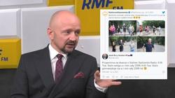 PO chwali się zdjęciami biegającego Tuska. Senator Bury kpi na Twitterze: Przypomina się dowcip o Stalinie… - miniaturka