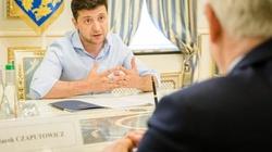 Jacek Czaputowicz spotkał się z Zełenskim. 'Jest zdeterminowany, by reformować kraj' - miniaturka
